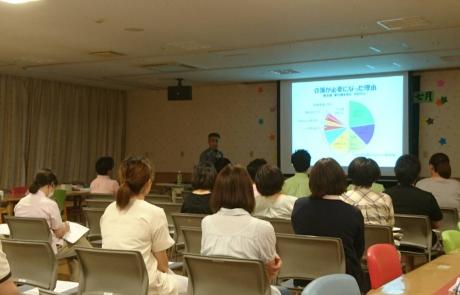 リウマチ科 南澤育雄先生によるロコモ研修会が開催されました。