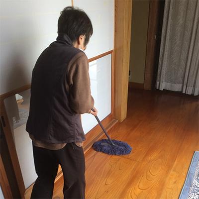 主婦としての掃除練習